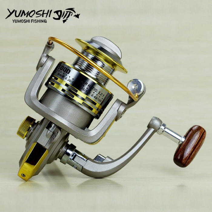 Spinning Fishing Reel Metal Spool Fishing Tackle Pesca Carrete Spinnning Reel-Spinning Reels-HD Outdoor Equipment Store-1000 Series-Bargain Bait Box