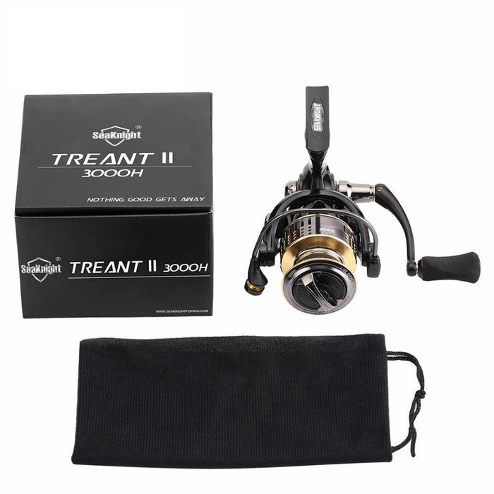 Spinning Fishing Reel Treant Ii 2000H 3000H 4000H Fishing Wheel Max 13Kg-Spinning Reels-Sequoia Outdoor Co., Ltd-2000 Series-Bargain Bait Box