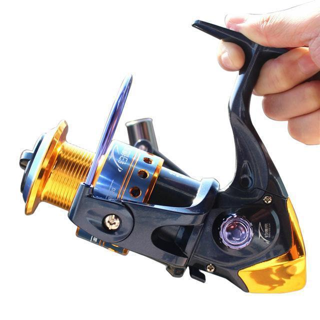 Spinning Fishing Reels Distant Fishing Wheels High-Quality 5.2:1 Sea-Spinning Reels-SkyWalkerHome Store-1000 Series-Bargain Bait Box