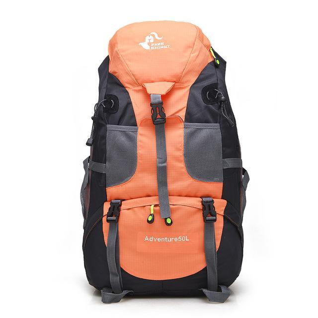 Sport Bag Backpacks Free Knight 50L Big Capacity Sports Bag Camping Backpacks-Backpacks-Bargain Bait Box-orange-50 - 70L-Bargain Bait Box