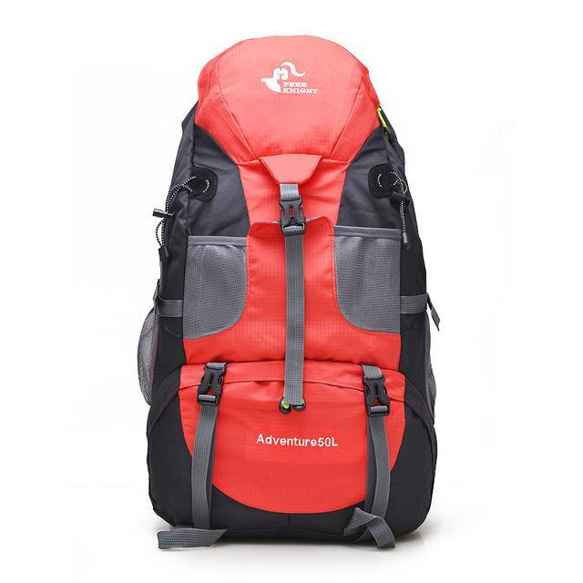 Sport Bag Backpacks Free Knight 50L Big Capacity Sports Bag Camping Backpacks-Backpacks-Bargain Bait Box-red-50 - 70L-Bargain Bait Box