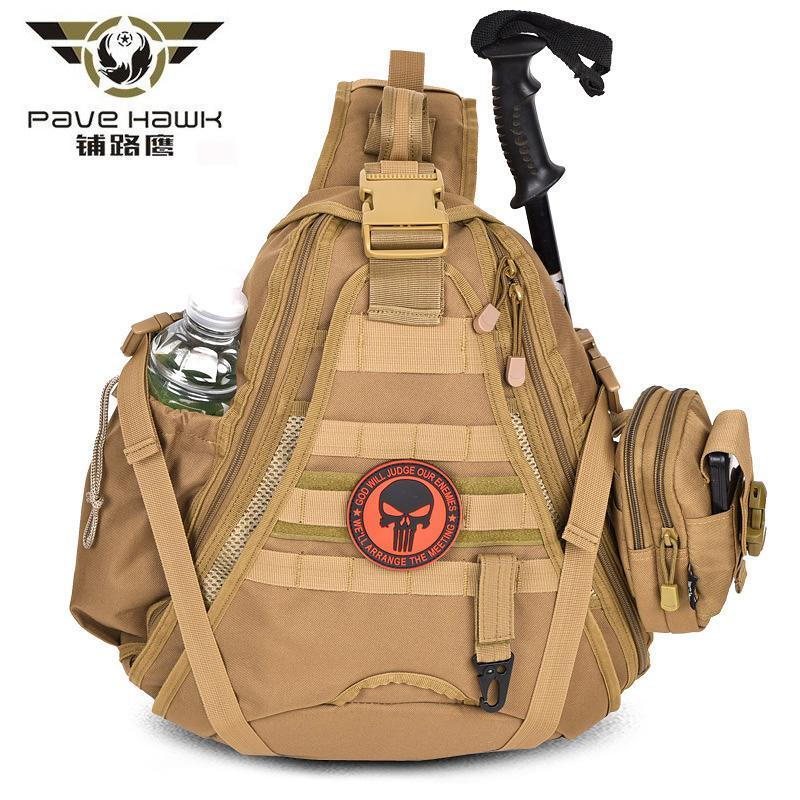 Sport Hunting Fishing Bag Men Military Tactical Molle Rucksack Woman Backpack-Backpacks-Bargain Bait Box-gray-Bargain Bait Box