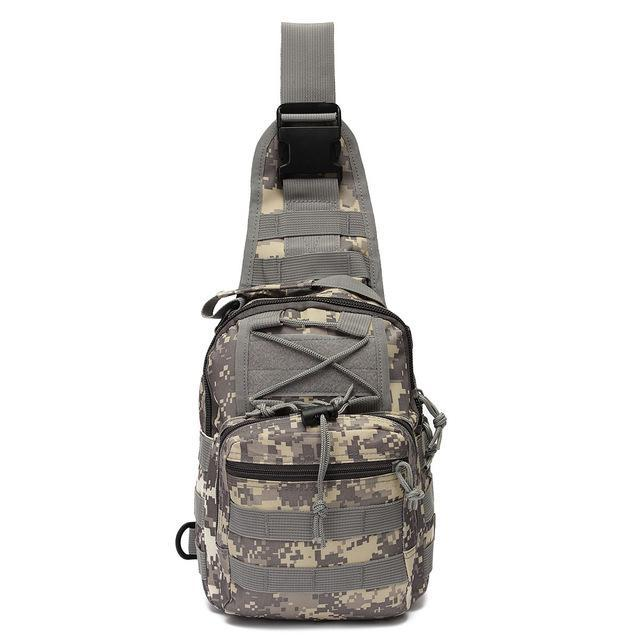Sport Nylon Tactical Military Sling Single Shoulder Chest Bag Pack Camping-Backpacks-Bargain Bait Box-ACU camo-China-Bargain Bait Box