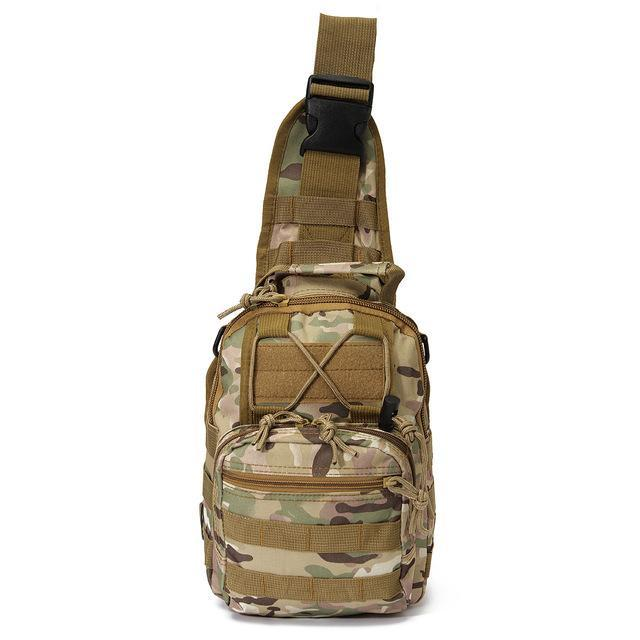Sport Nylon Tactical Military Sling Single Shoulder Chest Bag Pack Camping-Backpacks-Bargain Bait Box-CP camo-China-Bargain Bait Box
