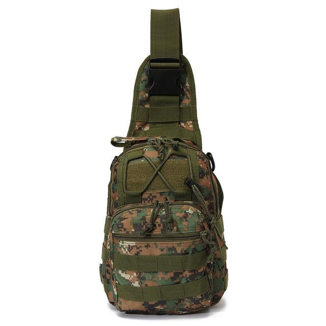 Sport Nylon Tactical Military Sling Single Shoulder Chest Bag Pack Camping-Backpacks-Bargain Bait Box-jungle digital-China-Bargain Bait Box