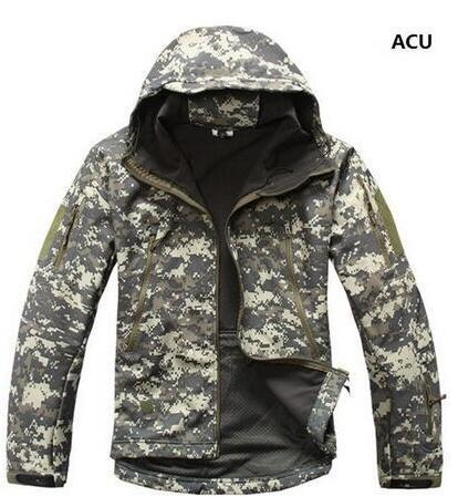 Sport Tactical Military Jacket Men'S For Camping Softshell Waterproof-Jackets-Bargain Bait Box-ACU-S-Bargain Bait Box