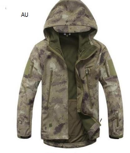 Sport Tactical Military Jacket Men'S For Camping Softshell Waterproof-Jackets-Bargain Bait Box-AU-S-Bargain Bait Box