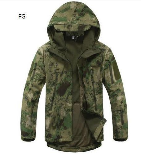 Sport Tactical Military Jacket Men'S For Camping Softshell Waterproof-Jackets-Bargain Bait Box-FG-S-Bargain Bait Box