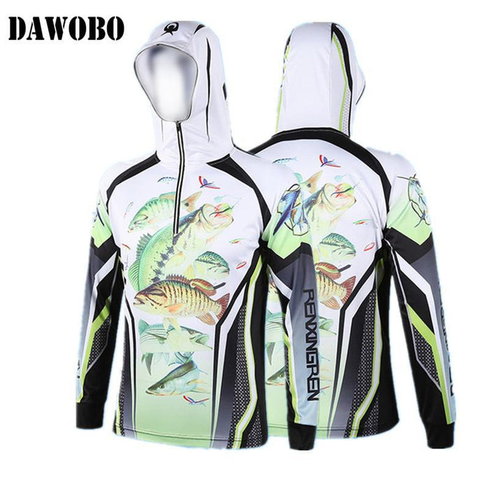 Sports Climbing Fishing Clothes Fast Drying Breathable Anti-Uv Hooded Fishing-Hoodies-Bargain Bait Box-DC030-S-Bargain Bait Box