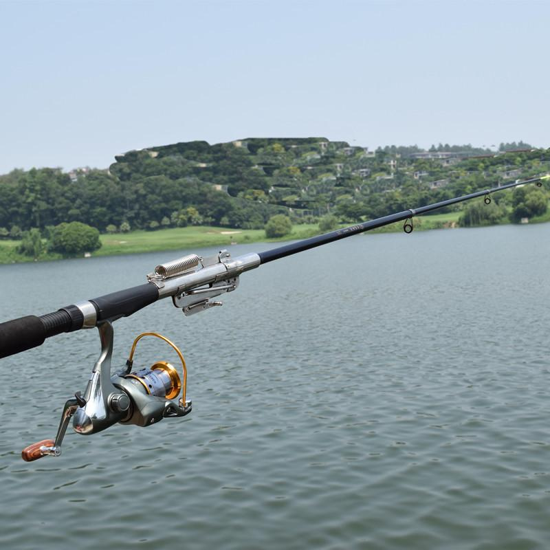 Stainless Steel Automatic Fishing Rod 2.1M 2.4M 2.7M 3.0M Without Reel-Automatic Fishing Rods-Bargain Bait Box-2.1 m-Bargain Bait Box