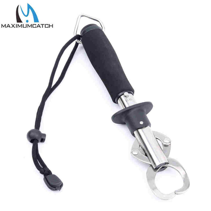 Stainless Steel Fish Lip Gripper With Scale Fishing Tool Fishing Tackle-Fish Lip Grippers-Bargain Bait Box-Bargain Bait Box