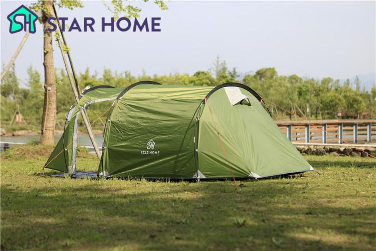 Superb Starhome 2 3 Persons Camping Tent One Bedroom One Living Download Free Architecture Designs Rallybritishbridgeorg