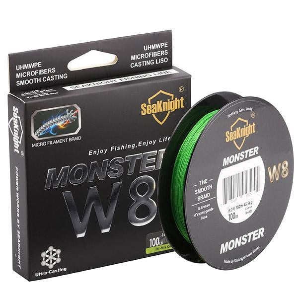 Strong 500 M 8 Strands Pe Braided Fishing Line Multifilament Fishing Line Wire-NUNATAK Fishing Store-Green-1.0-Bargain Bait Box