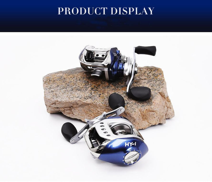 Style Leo Fishing Reels 6.3:1 Left Right Hand Spinning Baitcasting 9+1Bb-Baitcasting Reels-Outdoor life stores Store-Left Hand-Bargain Bait Box