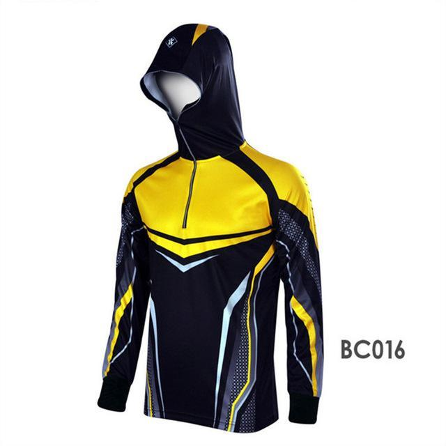 Style Men Climbing Anti Uv Cool Breathable Quick-Drying Clothes Fishing Homme-Hoodies-Bargain Bait Box-BC016-S-Bargain Bait Box