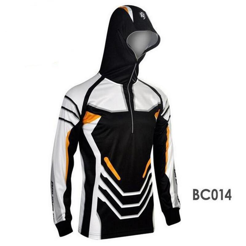 Style S Men Clothes Fishing Anti Uv Anti Mosquit Breathable Quick-Drying Homme-Hoodies-Bargain Bait Box-BC006-S-Bargain Bait Box