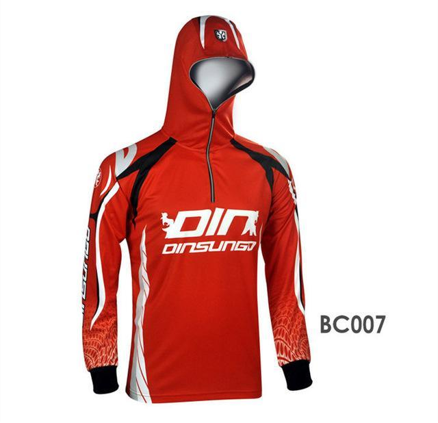Style S Men Clothes Fishing Anti Uv Anti Mosquit Breathable Quick-Drying Homme-Hoodies-Bargain Bait Box-BC007-S-Bargain Bait Box
