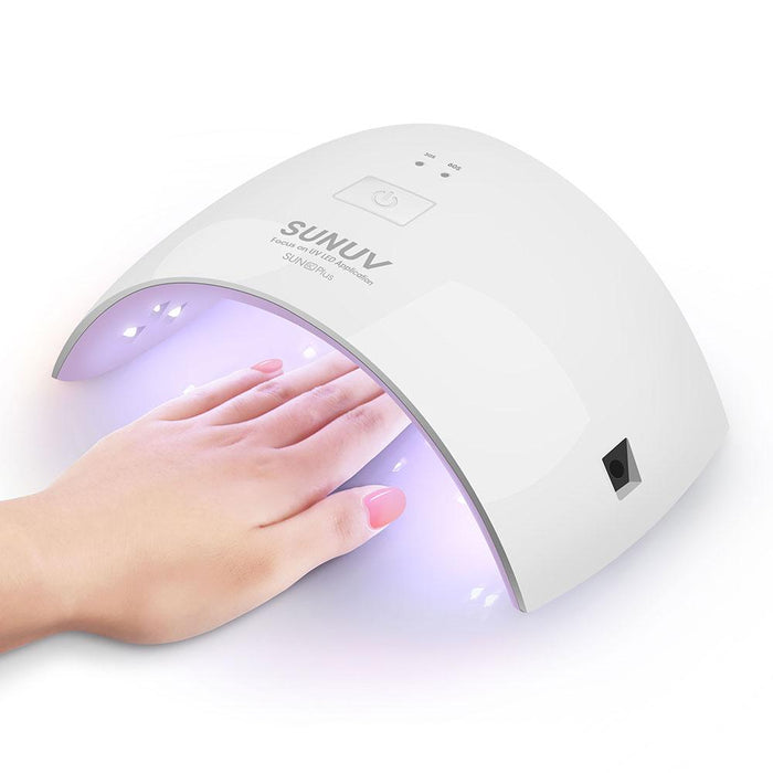 Sunuv Sun9C Plus 36W Uv Led Nail Lamp 18 Leds Nail Dryer For All Gels With-SUNUV Official Store-9C Plus US Plug-Bargain Bait Box