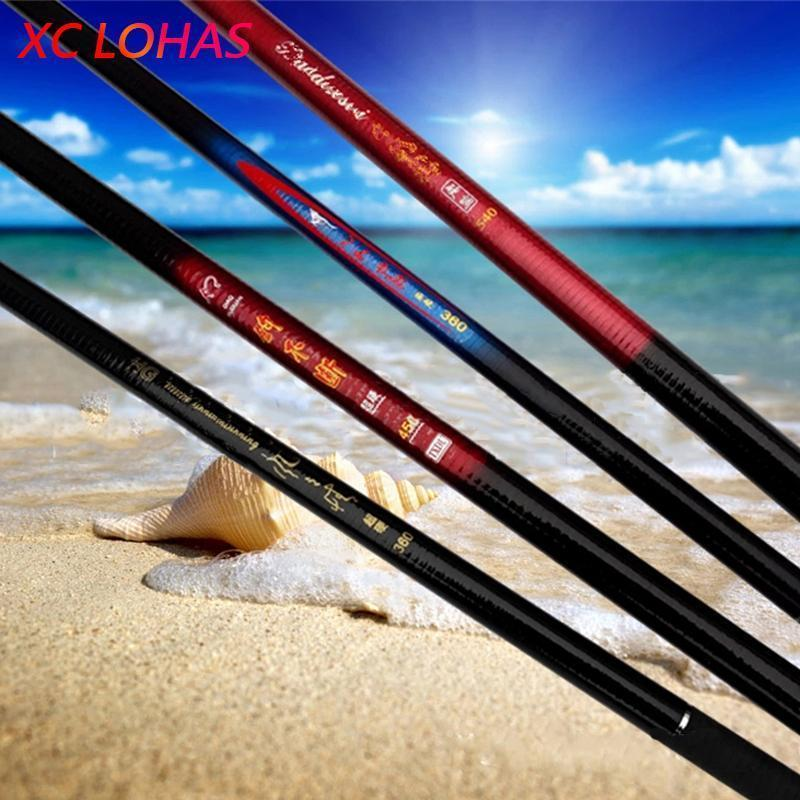 Super Deal Fiberglass Stream River Fishing Rod Telescopic Hand Pole Carp Fishing-XC LOHAS Fishing-tackle Store-2.1 m-Bargain Bait Box