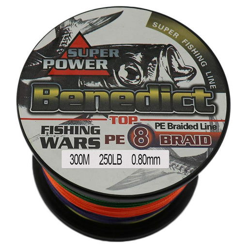 Super Strong 8 Strands 150Lb 200Lb 250Lb Pe Braided Fishing Line 300M Sea-ASCON FISH Official Store-White-25-Bargain Bait Box