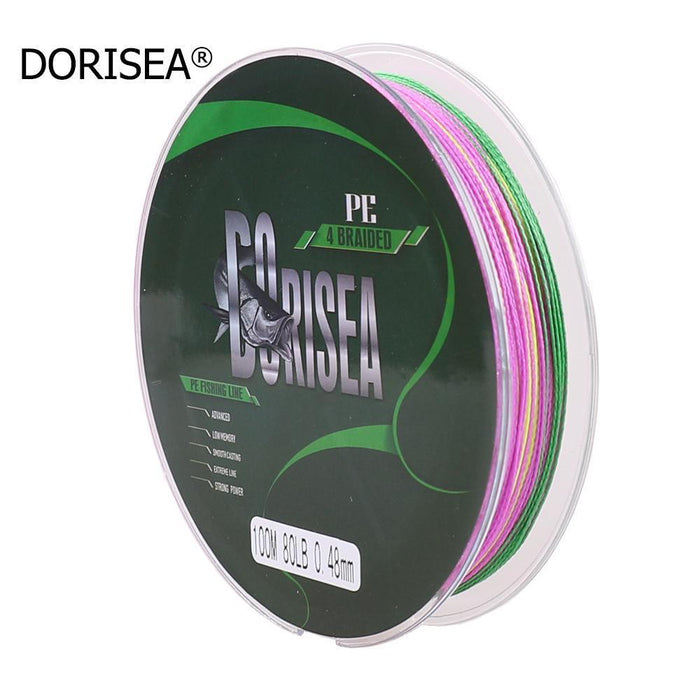 Super Strongth 100Lb Pe Fishing Line 4 Braided 100M/Yards 100% Pe-AGEPOCH Fishing Tackle Co., Ltd.-Light Grey-0.6-Bargain Bait Box