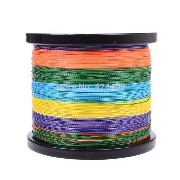 Supper Strong 1000M Braided Wires 100% Pe Fiber Fishing Spectra Multi-Color-ASCON FISH Official Store-0.4-Bargain Bait Box