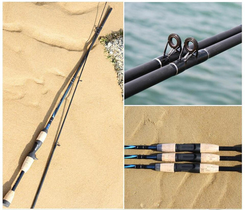 Supper Strong 2 Section Casting Fishing Rod 1.8M For Lure 5-15G Spinning Fishing-Spinning Rods-WALK FISH Official Store-White-Bargain Bait Box