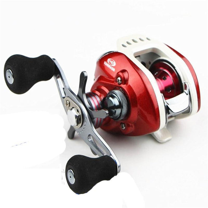 Swimsuit Aaron Khabarov Water Wheel Road Wheel 12 + 1 Rocker Wire Metal Cup-Baitcasting Reels-Sequoia Outdoor Co., Ltd-Left-Bargain Bait Box