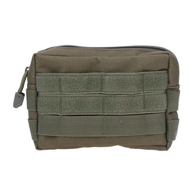 Tactical Bag Military Camo Pocket Camping Phone Keys Holder Molle Pouch Sports-Bags-Bargain Bait Box-Green Color-Bargain Bait Box