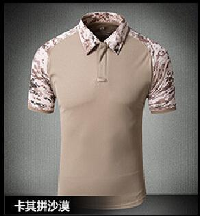 Tactical Military Breathable Shirt Short Sleeve Quick Dry Men Camo Camping-Shirts-Bargain Bait Box-04-S-Bargain Bait Box