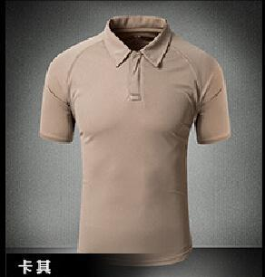 Tactical Military Breathable Shirt Short Sleeve Quick Dry Men Camo Camping-Shirts-Bargain Bait Box-07-S-Bargain Bait Box