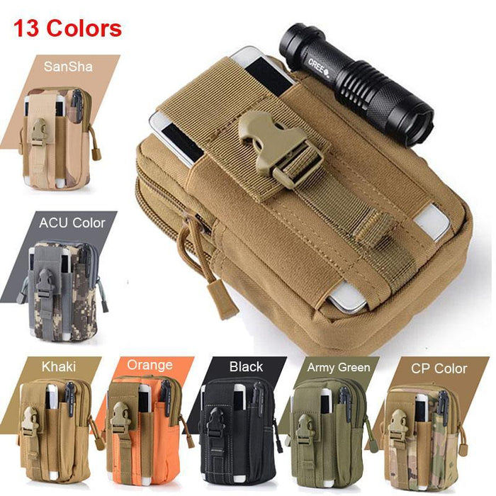 Outdoor Military Molle Waist Bag Tool Pouch Belt For Hiking Camping Hunting SP