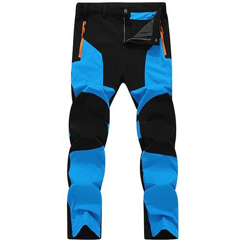 Tacvasen Pants Men Quick Dry Climbing Trousers Pants Men Fishing Clothes-Pants-Bargain Bait Box-Blue-L-Bargain Bait Box
