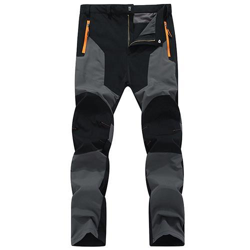 Tacvasen Pants Men Quick Dry Climbing Trousers Pants Men Fishing Clothes-Pants-Bargain Bait Box-Gray-L-Bargain Bait Box