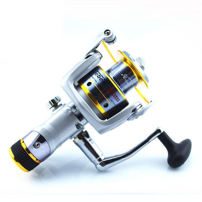 Teben Cor500 Metal Spinning Fishing Reels 5000 Series Technology Left Right Hand-Spinning Reels-Sequoia Outdoor Co., Ltd-5000 Series-Bargain Bait Box