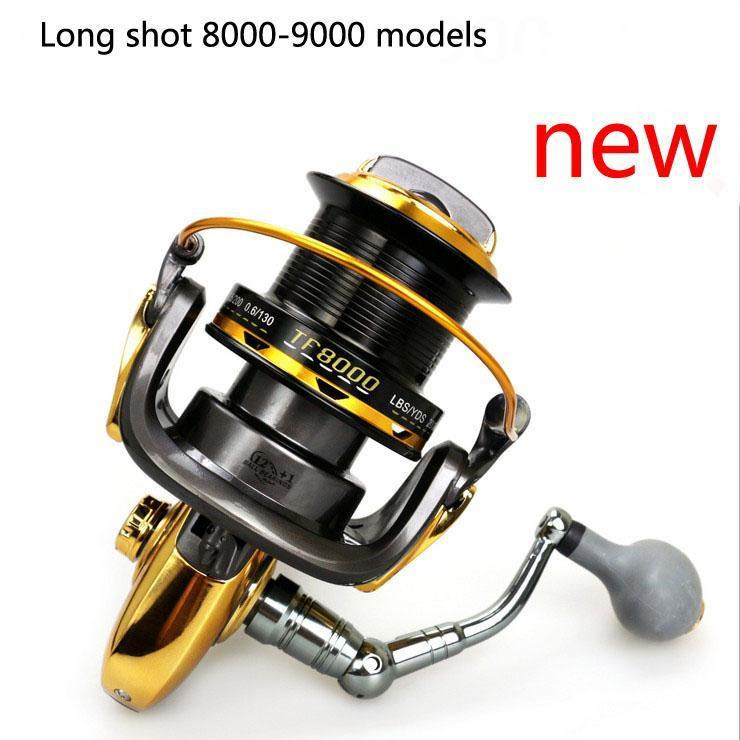 Tf8000 9000 13 Axis Fishing Vessels All Metal Cnc Rocker Arm High Strength-Spinning Reels-SkyWalkerHome Store-8000 Series-Bargain Bait Box