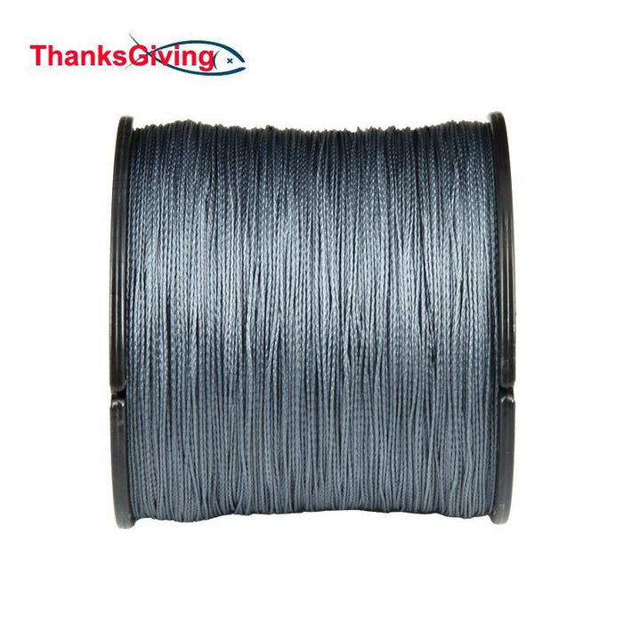 Thanksgiving Top Material 4Strands 1000M Super Strong Pe Multifilament Braided-Thanksgiving Family-4P1000White-0.6-Bargain Bait Box