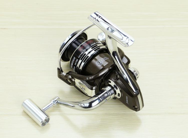 The Series Of Metal Wheels By Fishing Vessel 12 + 1 Gapless 13-Axle All-Metal-Spinning Reels-Sports fishing products-1000 Series-Bargain Bait Box
