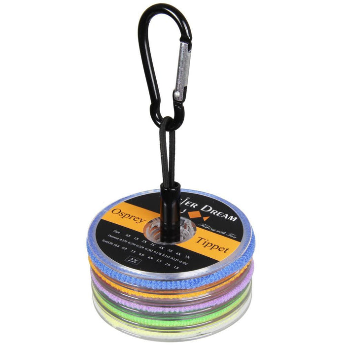 Tippet Fly Line 2 3 4 5 6X Nylon Clear 55Yds/50M Fly Fishing Tippet Line With-AnglerDream Store-Bargain Bait Box