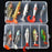 Toma Soft Kit Set 18G 14G 13G 9G 8G S Bait Silicone Fishing Sea Bass Fishing-Soft Bait Kits-Bargain Bait Box-Kit C-Bargain Bait Box
