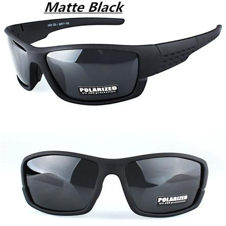 Top Driving Sunglasses Camo Frame Polarized Sun Glasses Men Women De Sol Uv400-Polarized Sunglasses-Bargain Bait Box-Matte Black-Bargain Bait Box