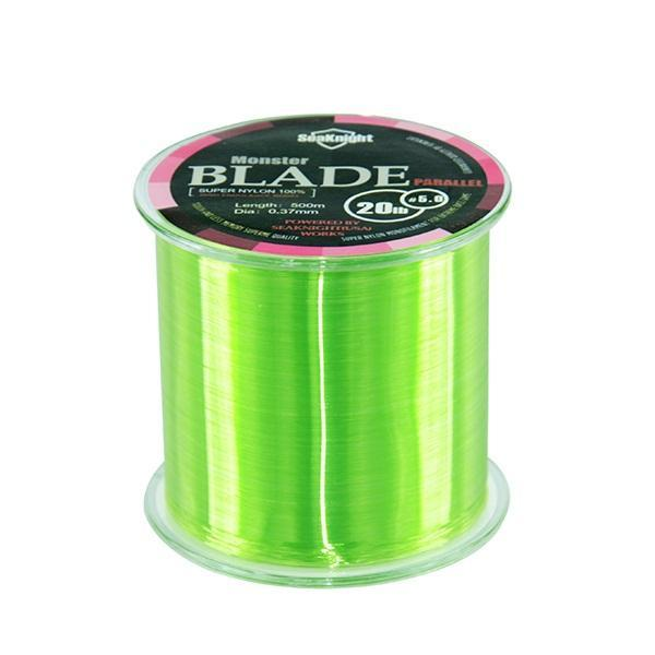 Top Quality Blade Band Nylon Transparent Fishing Line Fishing Tackle 500M Ice-NUNATAK Fishing Store-Green-0.4-Bargain Bait Box