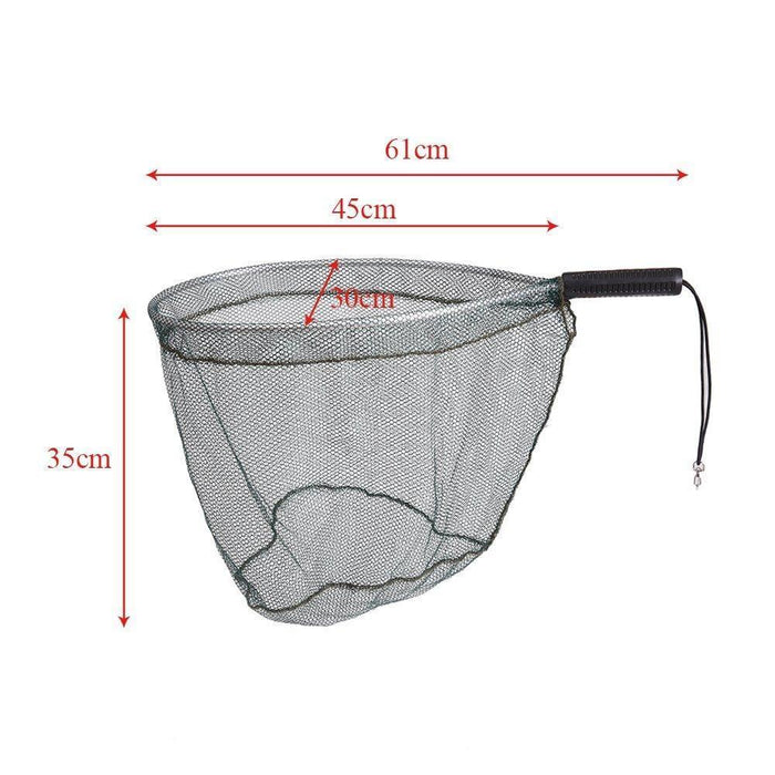 Topind Landing Net Catch And Release Nets Scoop Brail Nylon Mesh Netting For Fly-Fishing Nets-Bargain Bait Box-Bargain Bait Box
