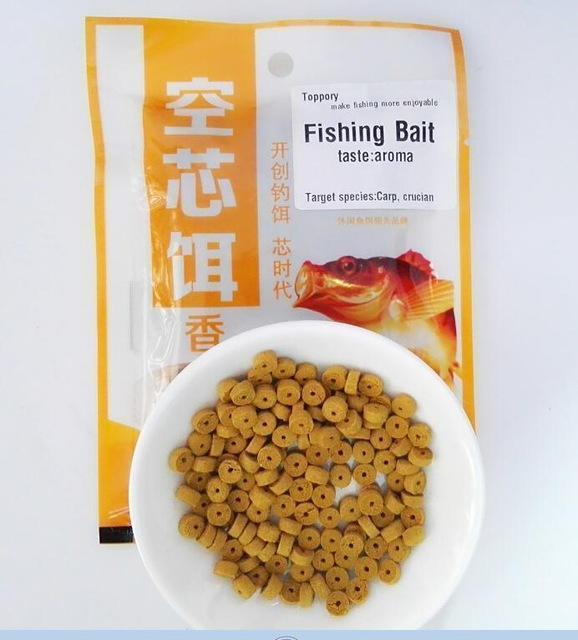 Toppory 1Bag 30G Carp Fishing Bait Crucian Bait Red Worm Aroma Taste Inserted-Toppory Store-Aroma-Bargain Bait Box
