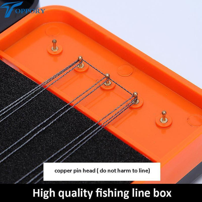 Toppory 45Cm Durable Herabuna Fishing Line Box 3 Layers Storage Box For-Toppory Store-Bargain Bait Box