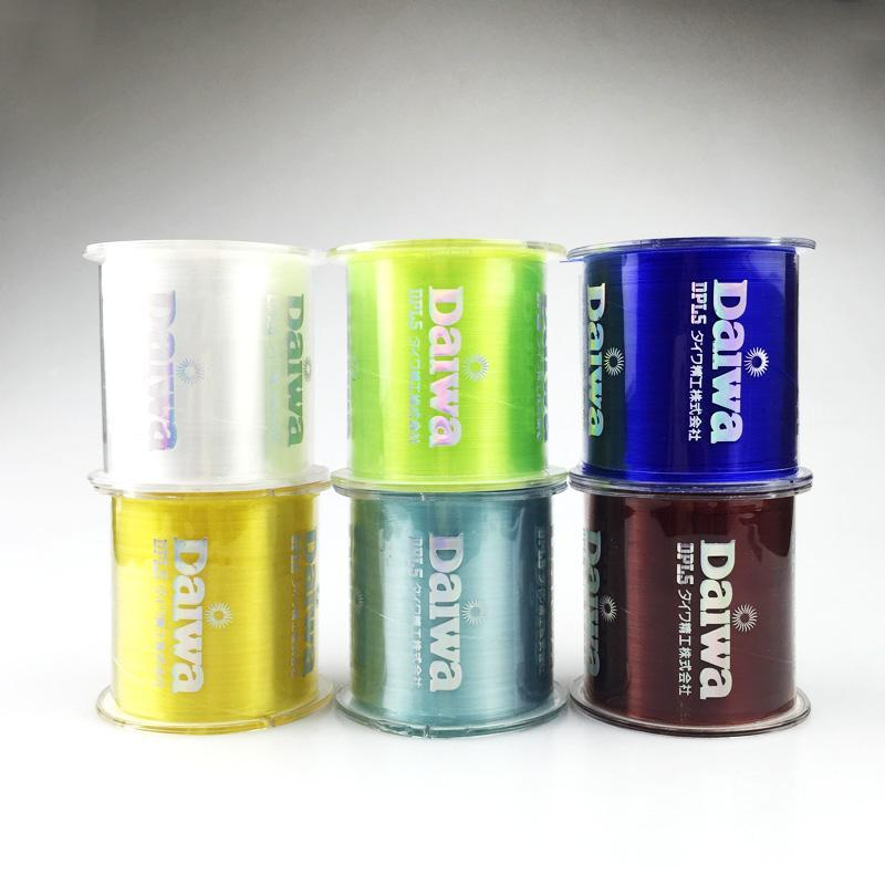 Transparent/ Yellow/ Red/ Blue 500M Monofilament Fishing Line 100% Nylon Fishing-Dreamer Zhou'store-color A-0.6-Bargain Bait Box