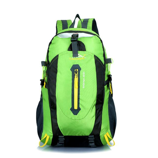 Travel Climbing Backpacks Men Travel Bags Waterproof 40L Hiking Backpacks-Climbing Bags-HU WAI JIAN FENG SportBags Store-green-30 - 40L-Bargain Bait Box