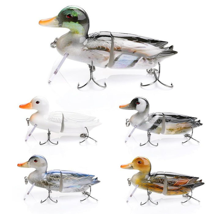 Trehook Fishing Lure 15Cm 90G Big Duck Floating Wobblers For Pike Fishing Minnow-Fishing Lures-Trehook Store-Color A-Bargain Bait Box