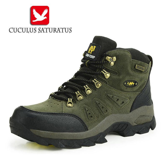 Trekking Shoes Men'S Hiking Shoes Anti-Skid Climbing Boots Athletic Breathable-Shoes-Bargain Bait Box-Brown-5-Bargain Bait Box