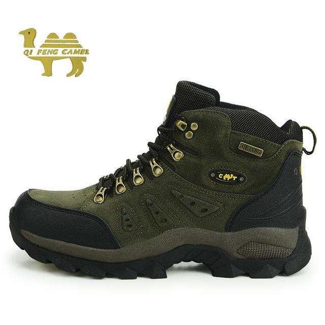 Trekking Shoes Men'S Hiking Shoes Anti-Skid Climbing Boots Athletic Breathable-Shoes-Bargain Bait Box-Green-5-Bargain Bait Box